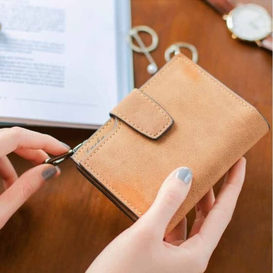 Lovely Women Short Wallet Coin Money Organizer Pocket Small Credit Card Purse