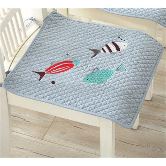Enjoyable Shop Cotton Square Chair Cushions Dining Seat Mat For Best Image Libraries Counlowcountryjoecom