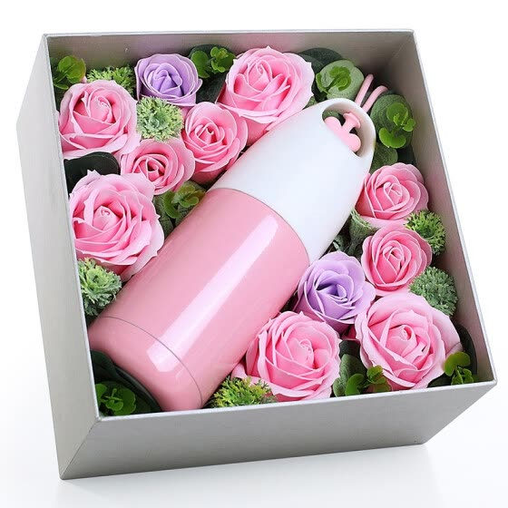 Apollo Dream AD120 Rose Cup Gift Box Send Girlfriend Lady Girl Mom And Maiden Birthday