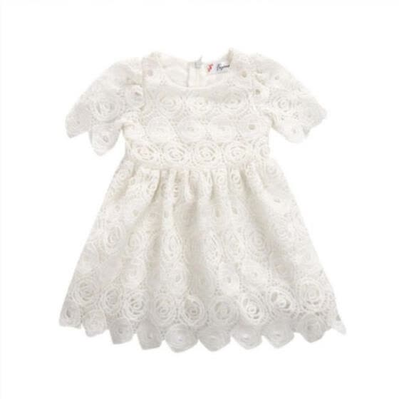 Summer Newborn Baby Girls Princess Floral Dress Party Pageant Tutu Dresses