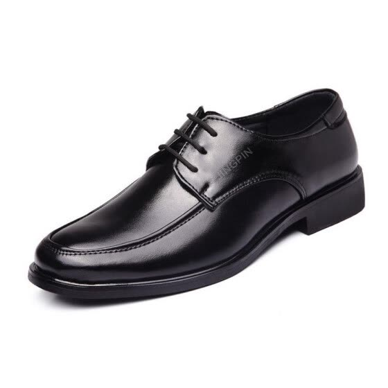 Men's business casual shoes lace office
