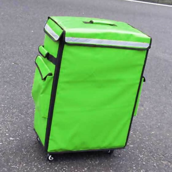 1680D extra large bags insulation package ice pack delivery lunch box backpack suitcase travel lunch bag Universal wheel luggage