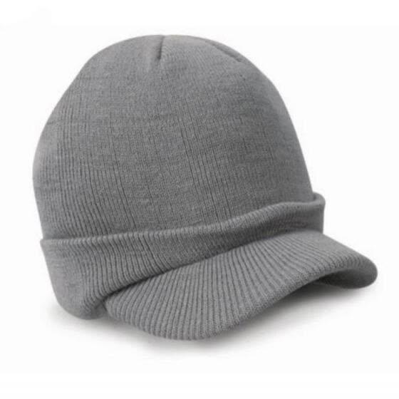 Men Women Winter Warm Braided Crochet Knitting Hat Beret Ski Beanie Ball Cap