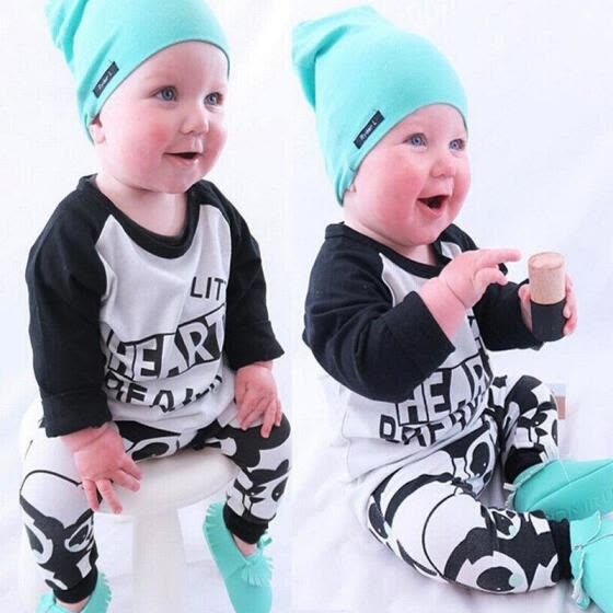 512cb72cb Shop Newborn Infant Toddler Kids Baby Boy Clothes T-shirt Tops ...