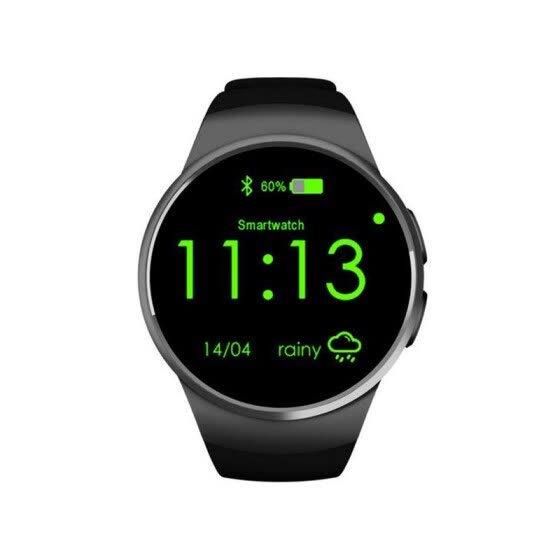 KW18 Bluetooth smart watch full screen Support SIM TF Card Smartwatch Phone Heart Rate for apple gear s2 huawei xiaomi