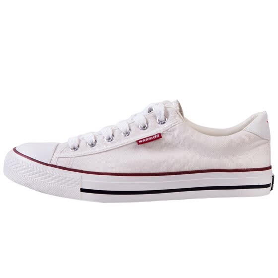2d5b80b06 Pull back   Warrior classic low to help men and women canvas shoes spring  casual men