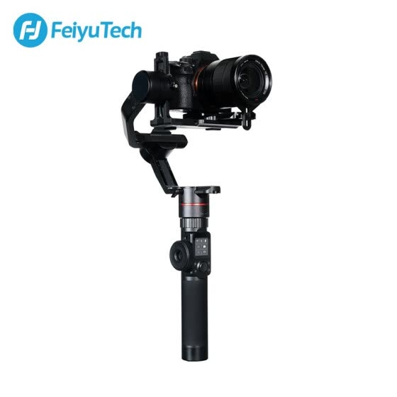 FeiyuTech Feiyu AK2000 3-Axis Camera Stabilizer Gimbal with Focus Ring for Sony Canon 5D Panasonic GH5 Nikon 5D 2.8 kg Payload