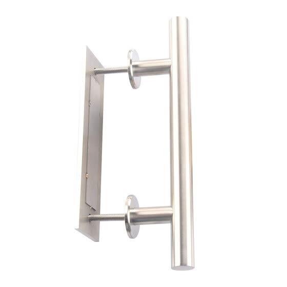 12 Inch Stainless Steel Stain Nickel Door Hardware Handle Pull Wood