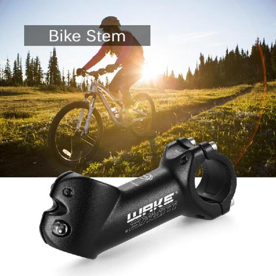 Cycling Bicycle Aluminium Alloy MTB Mountain Bike Handlebar Stem 31.8mm Black