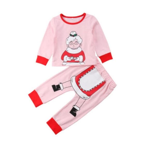 682f7b31e Shop Santa Claus Baby Kids Boys Girls Christmas Homewear Sleepwear ...
