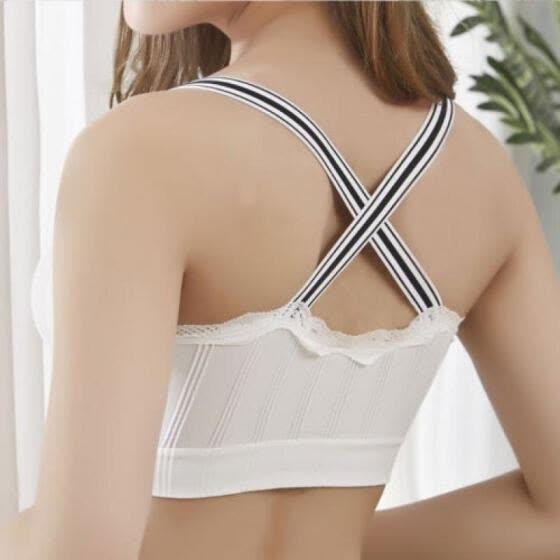 fd71a202cf8 Fashion Women Lady Lace Strap Bras Tops Tube Vest Chest Wrap Bandeau  Underwear