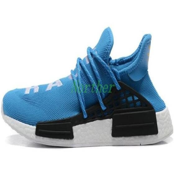 6113dfe6d7619 Human Race HU Trail Running Shoes Mens Women Pharrell Williams Runner  Yellow Black White Red Green
