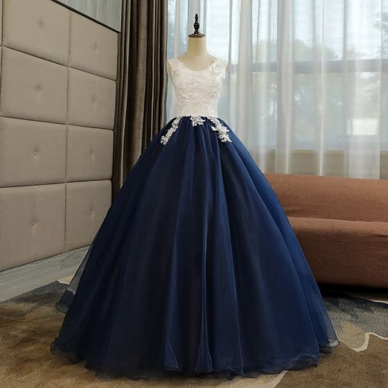 Vintage Quinceanera Dresses The Elegant Lace Applique Ball Gown The Banquet Party Prom Evening Dress