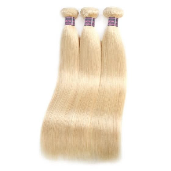 Ishow 8A Hot Sell 613 Blonde Hair 3Bundles Malaysian Straight Human Hair Extensions 10-28 inch Hair Weaving Free Shipping