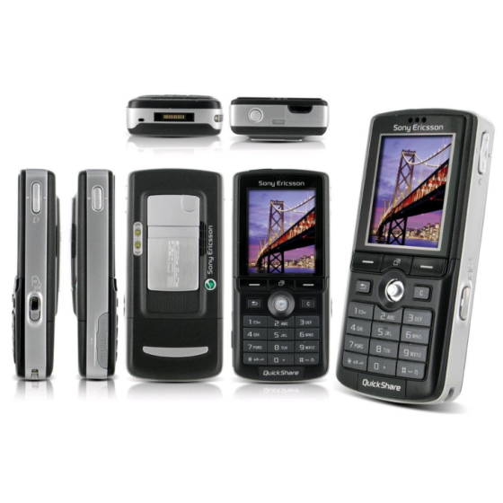 Original Sony Ericsson K750i Mobile Phone Full Set