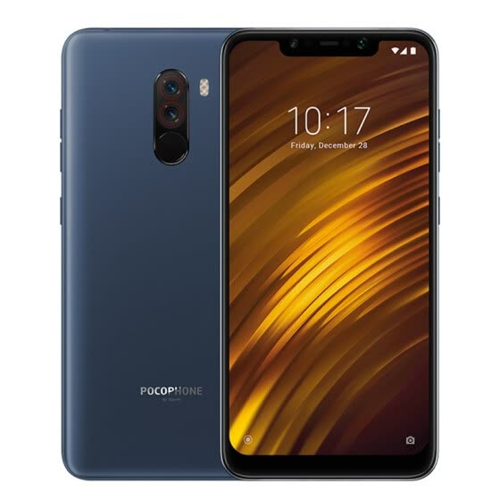 "Global Version Xiaomi POCOPHONE F1 6GB 64GB Smartphone Snapdragon 845 Octa Core 6.18"" 2246 x 1080 FHD LiquidCool AI Dual Camera"
