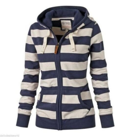Women Long Sleeve Sweatshirt Hoodie Winter Jumper Sweater Pullover Tops Coat New