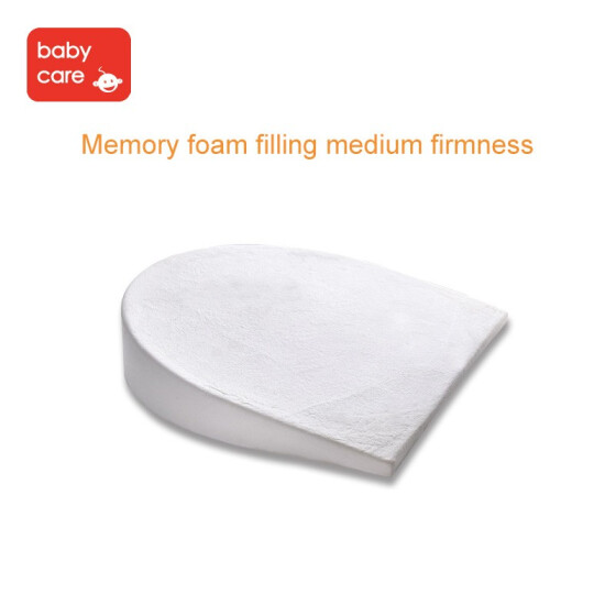 Baby Crib Wedge For Baby Nursing Memory Foam Baby Sleeping Wedge Pillow Infant Sleep Nursery Bedding