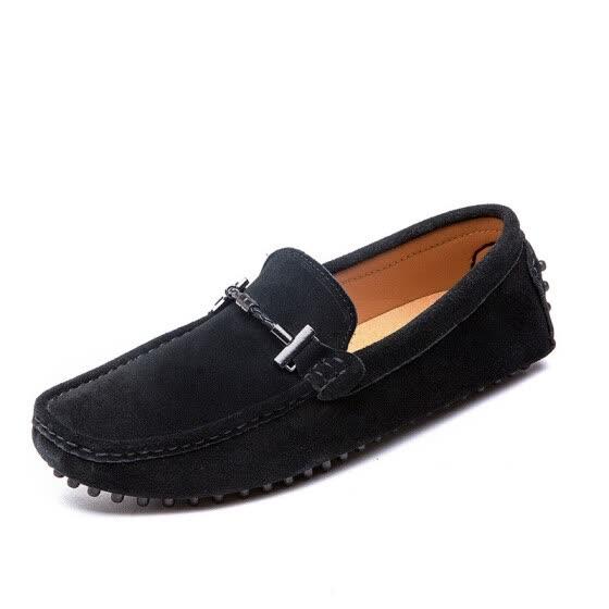 f03d65aea130e Novel Teez 2018 otoño e invierno nuevos zapatos de guisantes zapatos  casuales de los hombres moda
