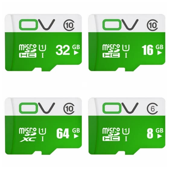 OV Micro SDHC Memory Card Class 6 UHS-1 Shock-poof for Phone / Tablet / Car DVR