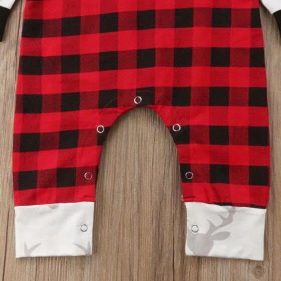 7bf294847950 Newborn Infant Baby Girls Boy Deer Print Bodysuit Romper Jumpsuit Outfit  Clothes
