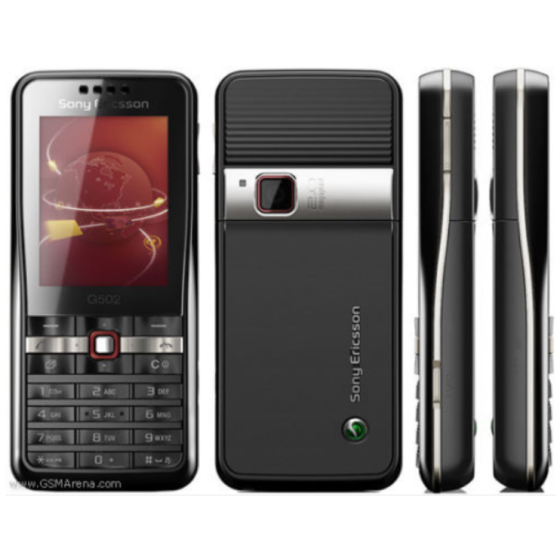 Original Sony Ericsson G502 Mobile Phone Full Set