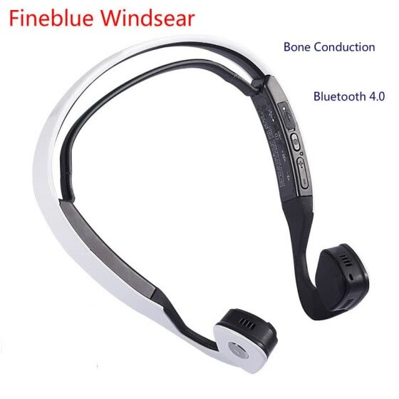 New Conduction Audifonos Bluetooth Stereo Headset Wireless Auriculares Sports  Running Headphones Smart Earphone Windsear Bone 68965808219d7