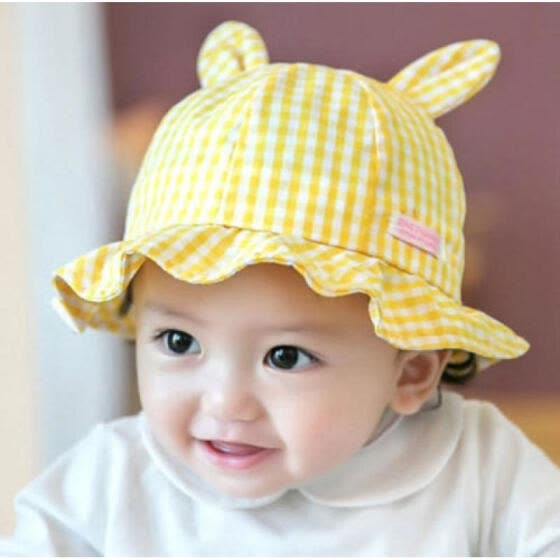 5d28d90ca Shop Newborn Baby Girls Kid Rabbit Ears Princess Outdoor Summer Sun ...