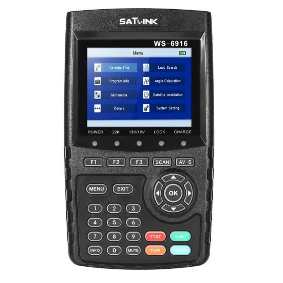 Shop SATLINK WS-6916 Digital Satellite Finder Meter HD