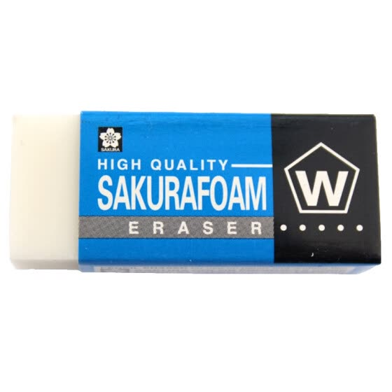 Sakura eraser XRFW-60 small single piece of art professional drawing rubber test rubber 【Japanese imports】