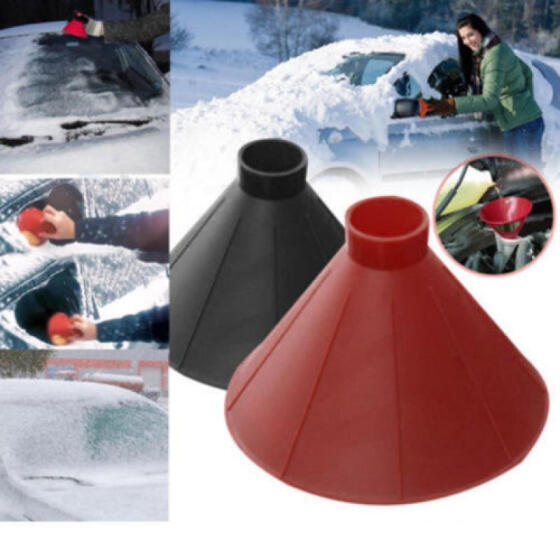Bianchi Outdoor Funnel Windshield Magic Home Snow Remover Car Tool Ice Scraper