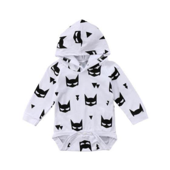 aa103174ba73 Shop Newborn Infant Baby Kids Boys Girls Long Sleeve Romper Jumpsuit ...