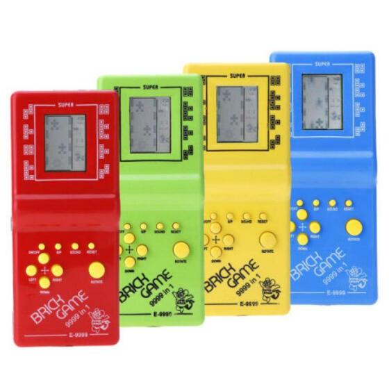 RETRO LCD BRICK GAME VINTAGE TETRIS SNAKE 999-IN-1 HANDHELD ARCADE CLASSIC