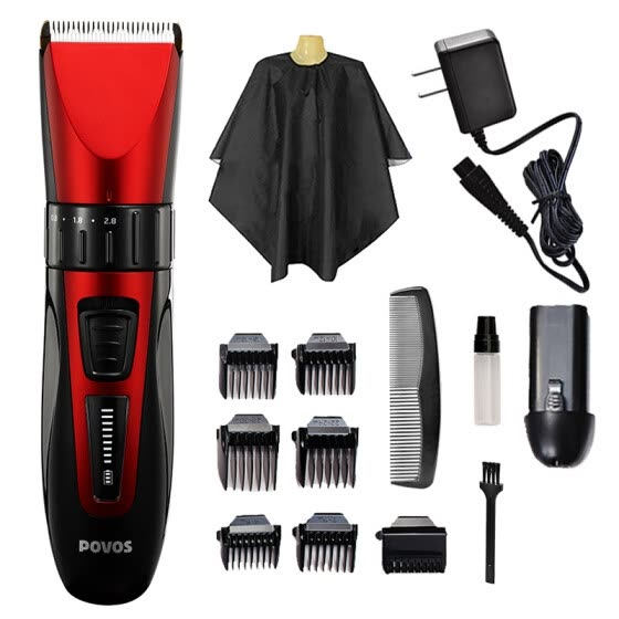 Pentium (POVOS) hair clipper PW230 professional adult children electric hair clipper baby hair clipper hair clipper hair clipper mute design (double battery)