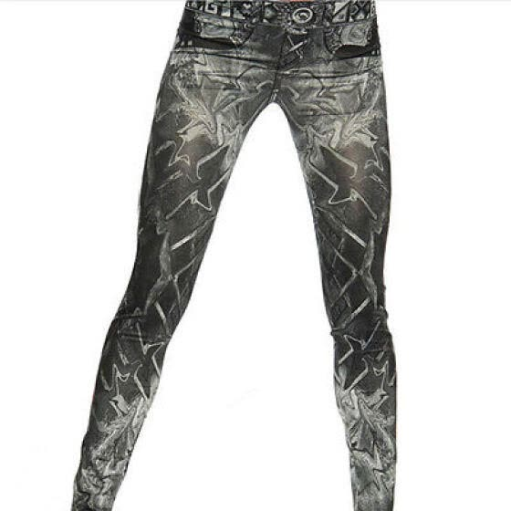 Women Skinny Pants Jeggings Stretchy Slim Leggings Jeans Pencil Tight Trousers