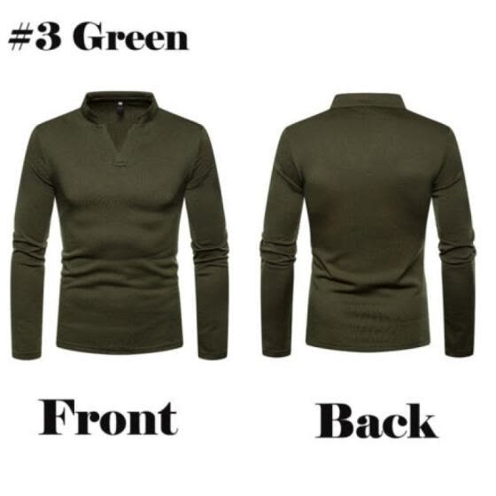 Fashion Mens Polo Roll Turtle Neck Pullover Cotton Jumper Tops Sweater Shirt