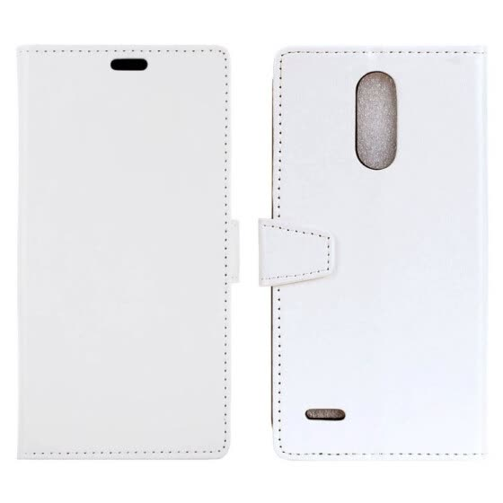 Shop MOONCASE LG G7 ThinQ Crystal Leather Case - White