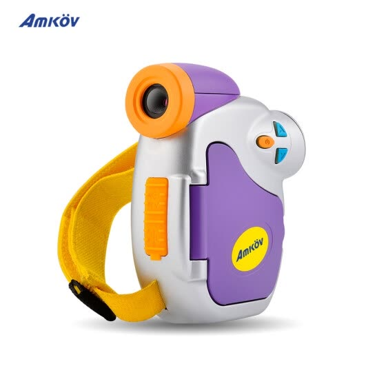 "Amkov DV-C7 1080P Children Kid Digital Video Camera 1.44"" Colorful Display Multiple Languages for Christmas"