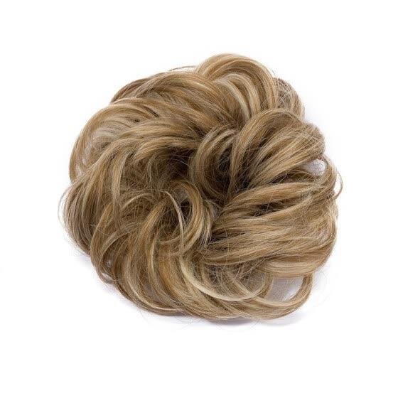 994f11150e 10 Colors Fashion Women Hair Pieces Messy Hair Scrunchie Fake Hair Bun  Extensions Wigs