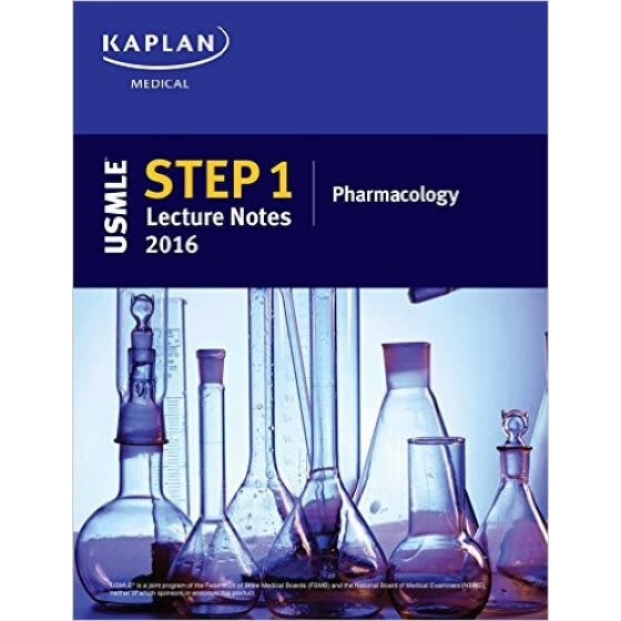 Shop USMLE Step 1 Lecture Notes 2016: Pharmacology Online from Best