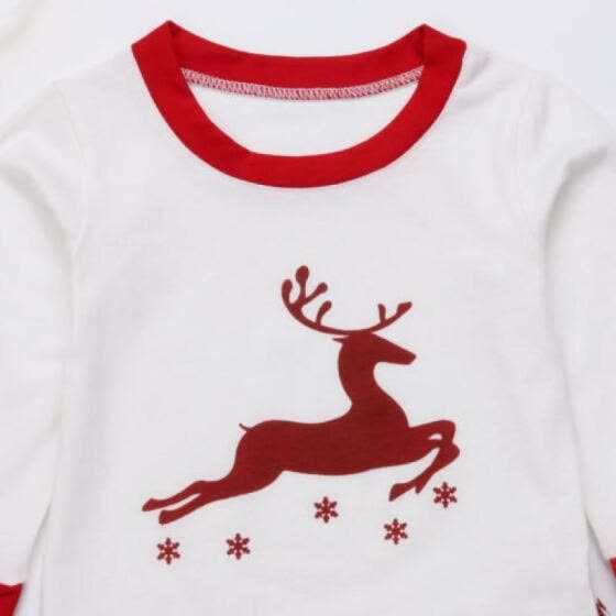 b516ab8525 UK Family Matching Adult Women Kids Christmas Pyjamas Nightwear Pajamas Sets