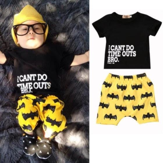 Au Stock Newborn Baby Boys Clothes Short Sleeve Top T Shirt Pants
