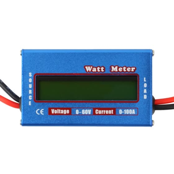 100A 60V DC RC Helicopter Airplane Battery Power Analyzer Watt Meter Balancer