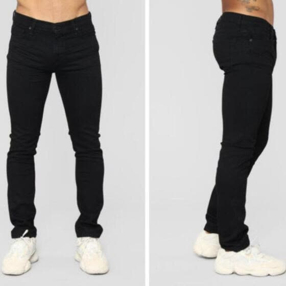 4503027d New Fashion Men's Slim Fit Casual Stretch Skinny Jeans Trousers Tight Pants  XN