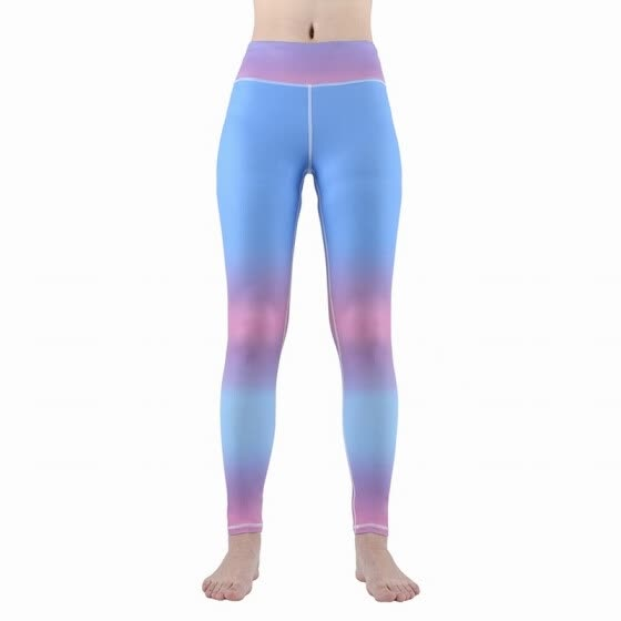 7d60b634334ebd Womens Yoga Pants Capri Mid-Waist Workout Running Tights Stretchy Ankle  Casual Leggings