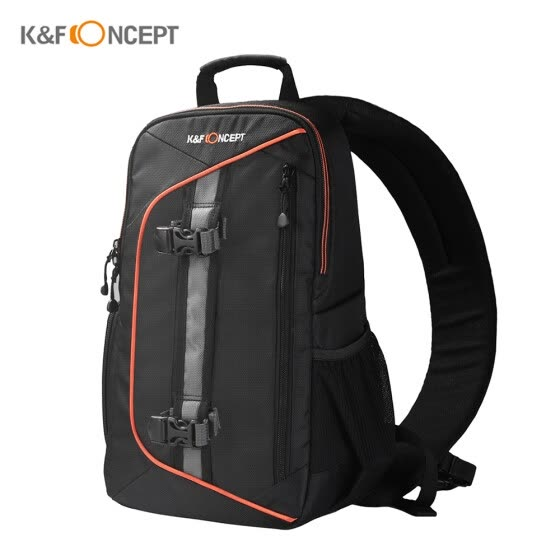K&F CONCEPT Digital DSLR Camera Bag Backpack Case Travel Sling Shoulder Bag Shockproof Waterproof with Lens Cleaning Set for Canon
