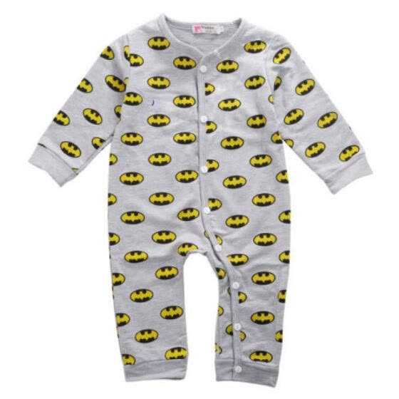 Toddler Newborn Baby Girls Boy Batman Rompers Bodysuit Playsuit Outfits Clothes