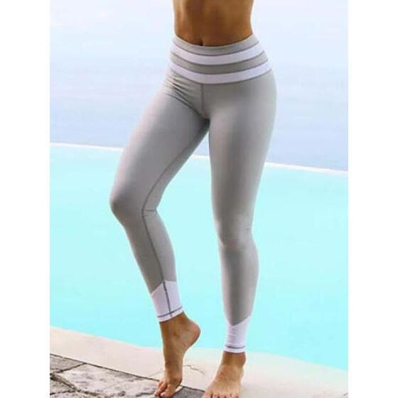 UK Women Yoga Pants Ladies Fitness Leggings Running Gym Exercise Sports  Trousers 7ada92e80f