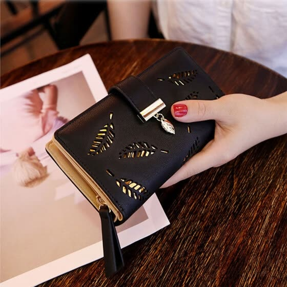 Women Wallet Long Leather Purse Phone Card Holder Clutch Large Capacity Pocket