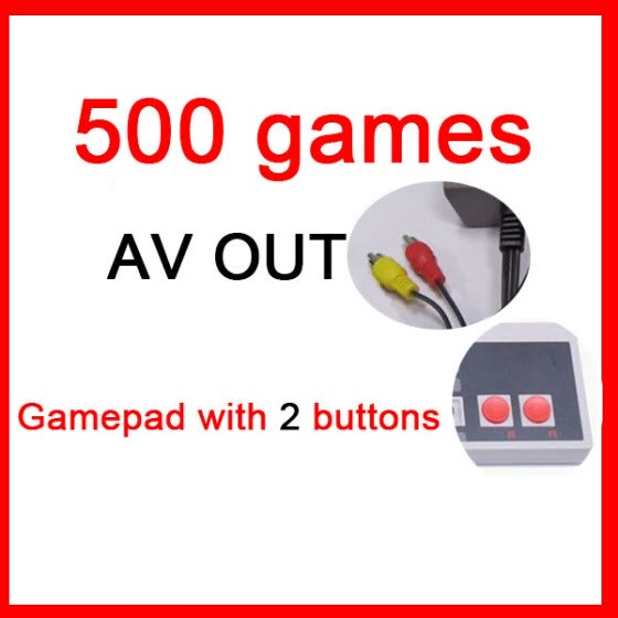 Mini TV Game Console 8 Bit Retro Video Game Console Built-In 620 Games Handheld Gaming Player AV Port